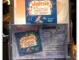 Jamie is Jamie book event