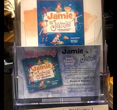 Jamie is Jamie book event